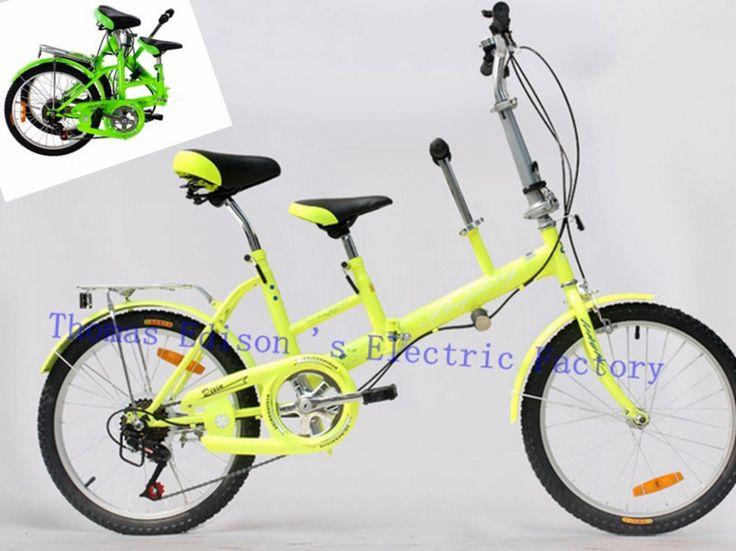 Pas cher 22 polegada pliable vélo pliant vélo mère et vélo enfant photo voiture légère pliage voiture parent   enfant double vélo, Acheter  Bicyclette de qualité directement des fournisseurs de Chine:              &nbs
