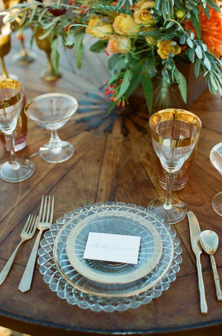 Gothic Bohemian Fall Wedding Inspiration Shoot - MODwedding