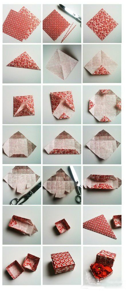 DIY how to make a gift box