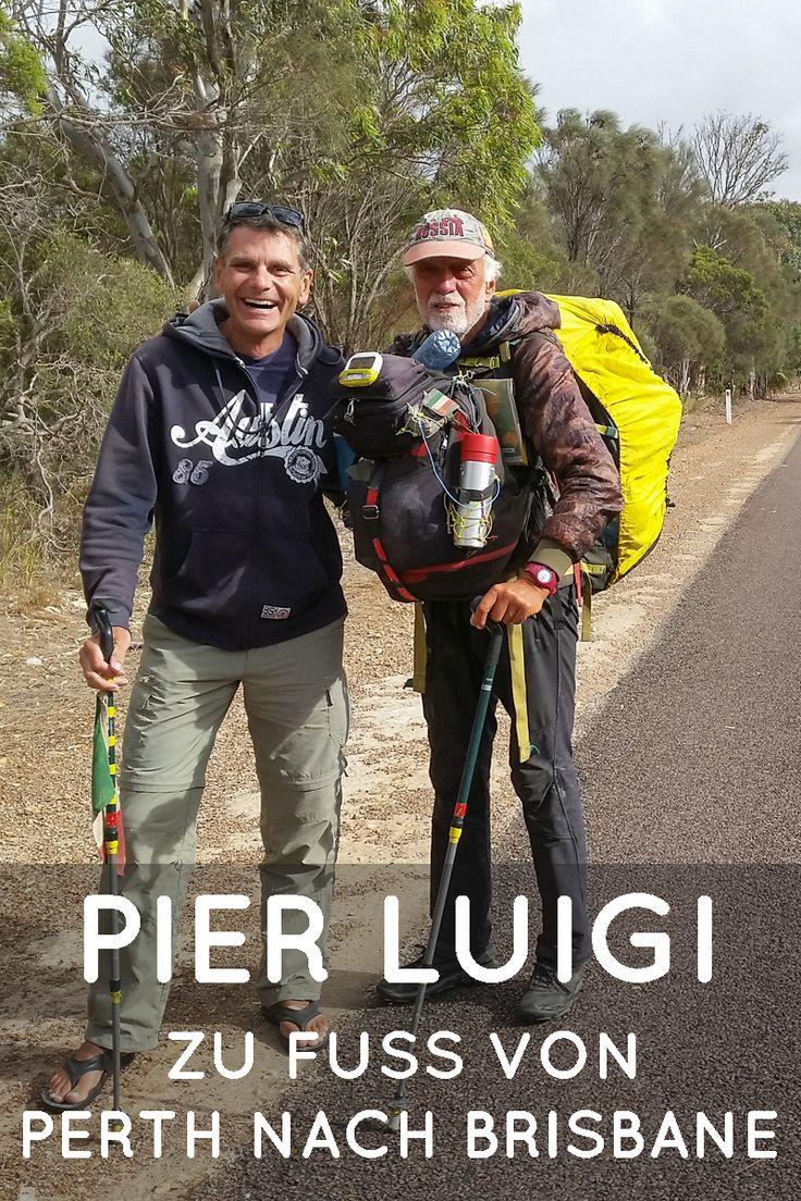 Zu Fuss quer durch Australien. Wow, dieser Mann hat etwas zu erzählen.