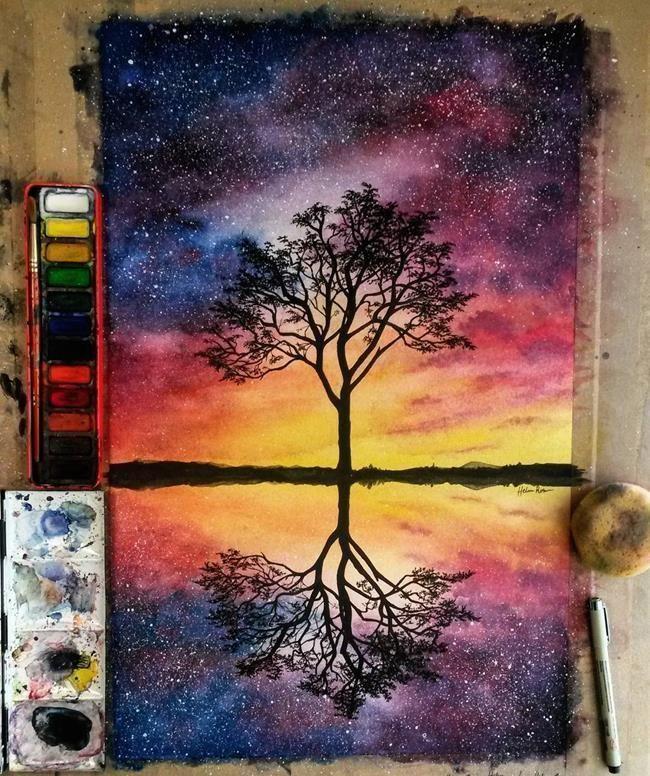 Pin By Hilol On Cizim Fikirleri In 2020 Art Painting Artwork Watercolor Paintings
