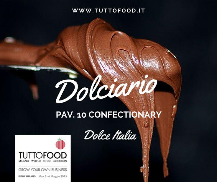 TUTTOFOOD 2015 | DOLCIARIO #Tuttofood2015 #Milano