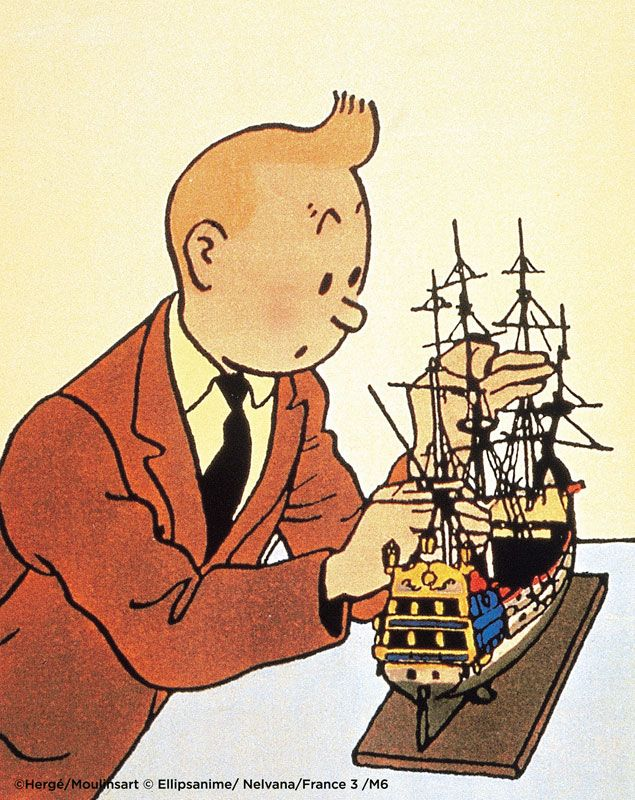 The Secret of the Unicorn • Tintin, Herge j'aime