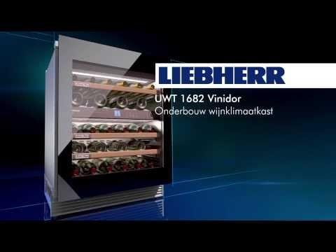 Wijnklimaatkast UWT 1682 met innovatieve TipOpen techniek #liebherr