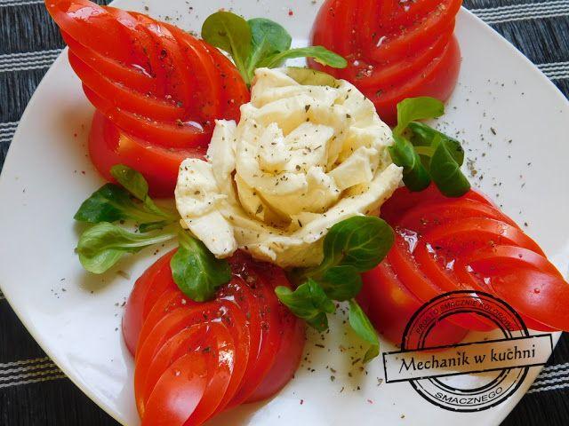 Mechanik w kuchni: Sałatka caprese