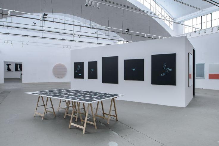 Widok wystawy, na pierwszym planie: Kornel Janczy, wszystkie: bez tytułu, 2015, fot. Wojciech Pacewicz