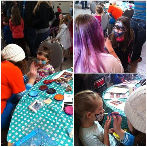 #FamilyDay2015 We had volunteers from #Valoris face painting throughout the event. Great job, ladies! #EXITrealtryMatrix #tessierteam #Community #Embrun #Russell