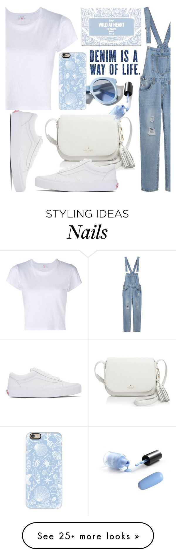 """Way of life"" by syvkirah on Polyvore featuring Pinko, RE/DONE, Casetify, Kate Spade and Vans"