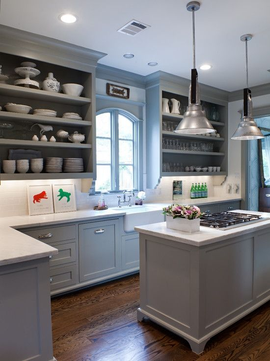 78 Best Ideas About Open Kitchen Cabinets On Pinterest Open Cabinets, Open Kitchen Shelving photo - 4