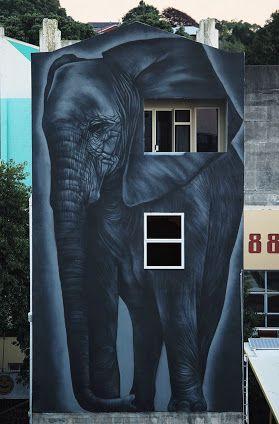 DecoArt24.pl - Street art in New Zealand by street artist Owen Dippie. Photo by Erin Dippie.