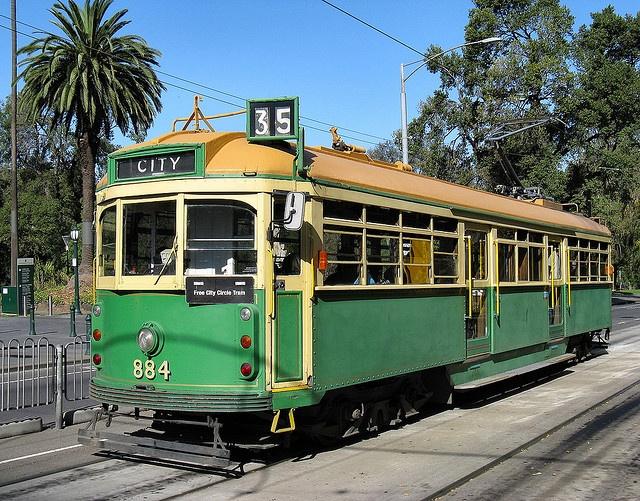 Melbourne City Circle Tram by Dean-Melbourne, via Flickr
