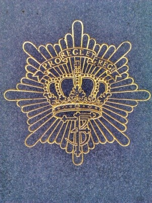Danish Royal Life Guard (Den Kongelige Livgarde) cap badge