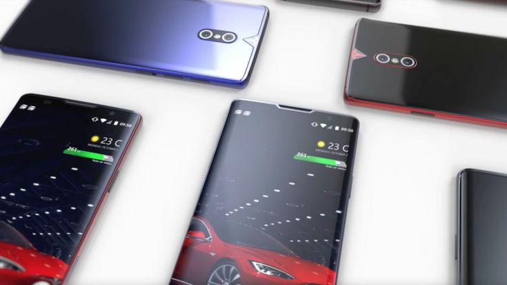 ICYMI: Muestran el concepto de 'teléfono inteligente de Tesla' (VIDEO)