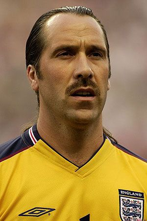 Arsenal and England goalkeeper David Seaman made headlines for his hair.