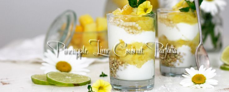 Pineapple Lime Coconut Parfaits! Yes, a tropical paradise that supports your immune system, bolsters your joints and boosts your energy. This parfait is built with pineapples, coconut yogurt, buckwheat, and more which are all healthy but today I celebrate the nutritional value of limes! Limes, that sweeter citrus fruit cousin of the lemon, is rich …