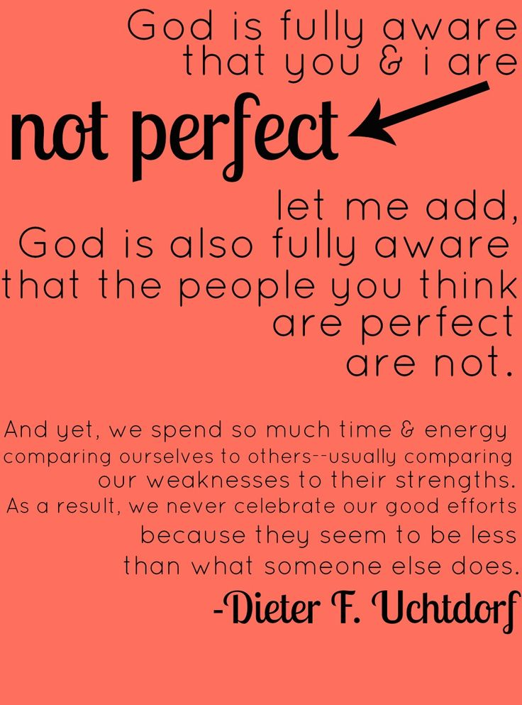 an analysis of gods being perfect than anyone Biblical examples of imperfect people in the bible, god can use anyone verses, quotes & scripture, plus god wants to use you verses and quotes showing god can use anything and anyone to do his work dear friends, god wants to use you and me.