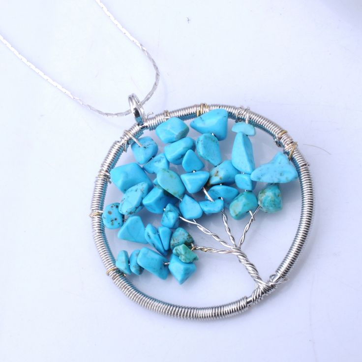 10 best turquroise images on Pinterest | Wire jewellery, Wire ...