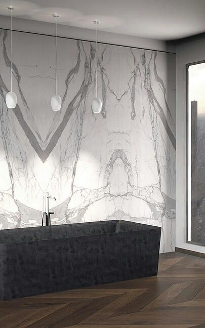 Serafini Marmi Open book , an elegant concept in marble for wall covering / cladding.
