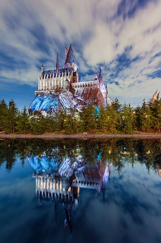 Hogwarts, Wizarding World of Harry Potter, Universal Studios Japan by Tom Bricker