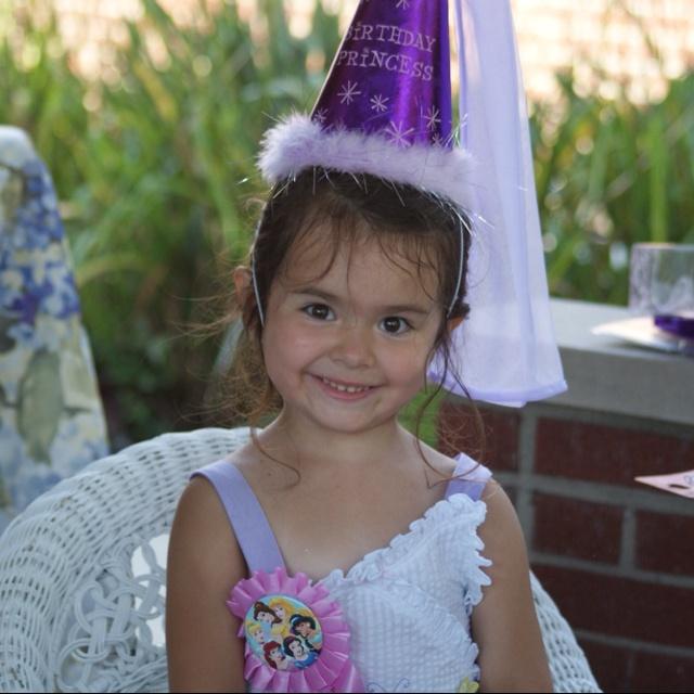 Happy 4th birthday granddaughter.