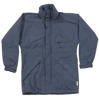 Castle Fortress Helford Waterproof Jacket - £20.76 - www.safetyandworkwearstore.co.uk - The Castle waterproofs range is designed for the outdoors, whether you need protection from the element whilst at work or taking part in outdoor pursuits, you can stay dry with this functional range.