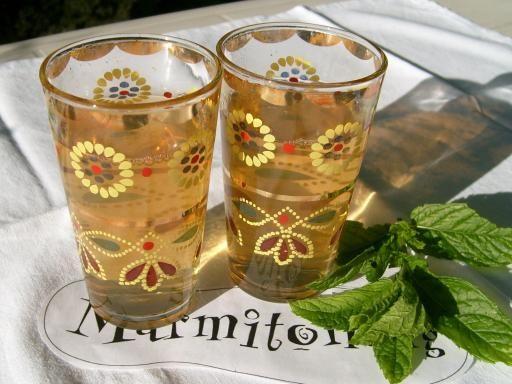 Recette Thé à la menthe marocain