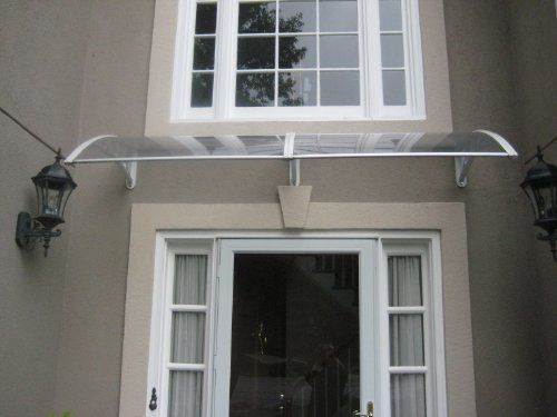 Denmir Door Amp Window Awning Canopy Polycarbonate Twin
