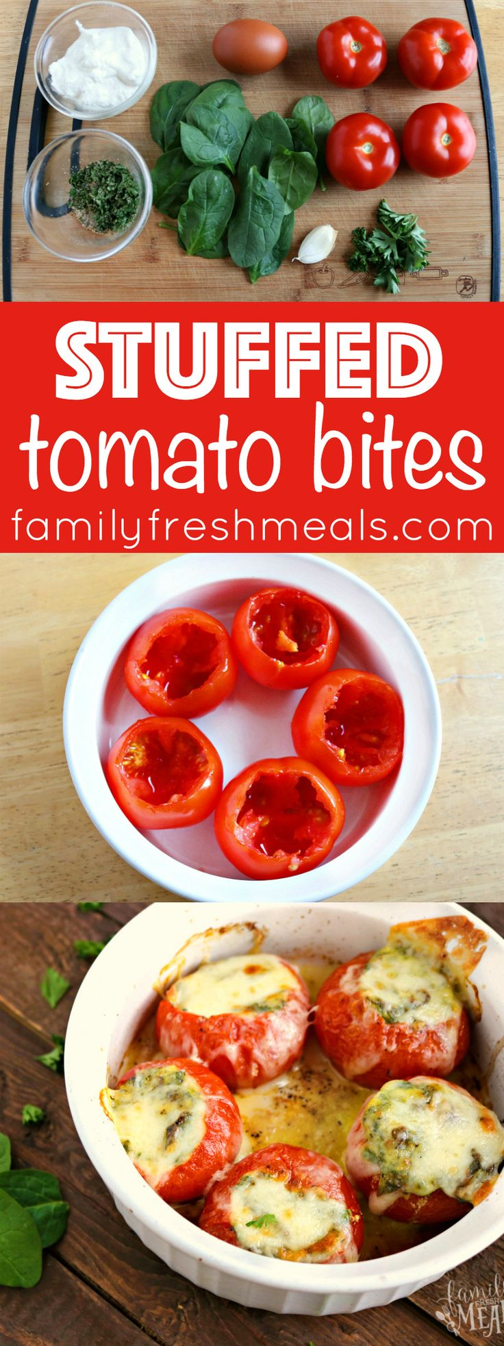 how to cook egg stuffed tomatoes