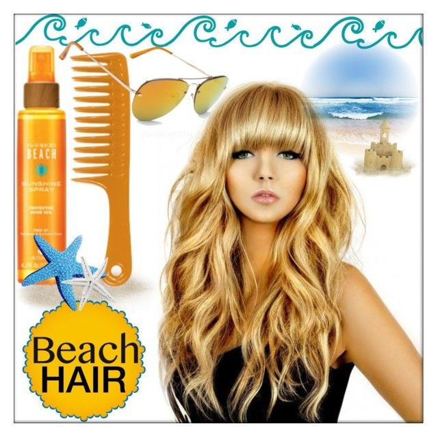 Beach Hair! by whirlypath on Polyvore featuring beauty, Alterna and Aéropostale