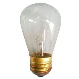 $3.98 Litex Indoor/Outdoor White Incandescent Edison String Light Bulbs Part 84