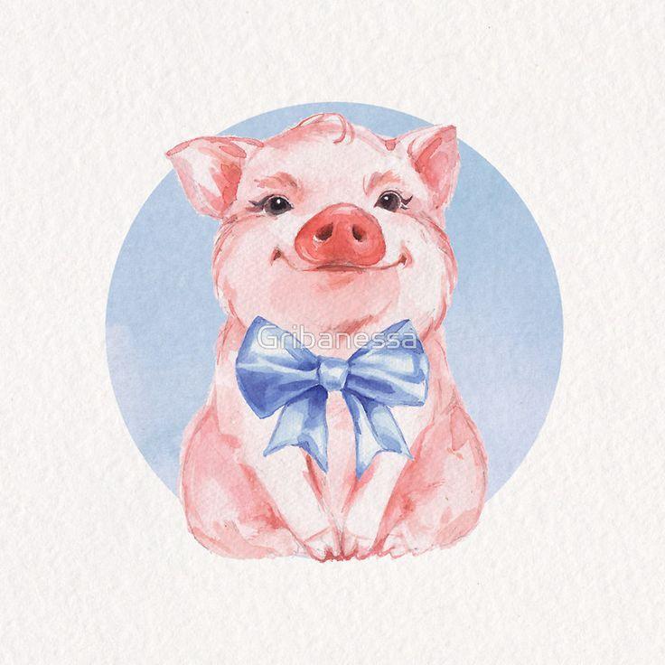 одном рисунок новогодней свинки открытка дадим четкие рекомендации