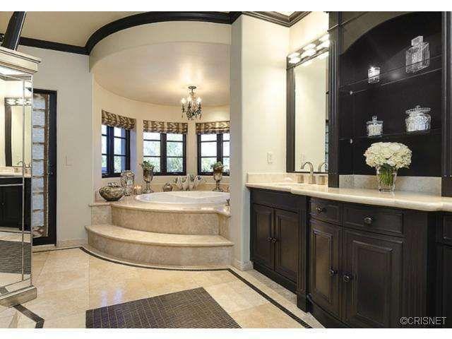 We LOVE this Master Bath!!  Lamar Odom, Khloe Kardashian List Home For Sale (PHOTOS)