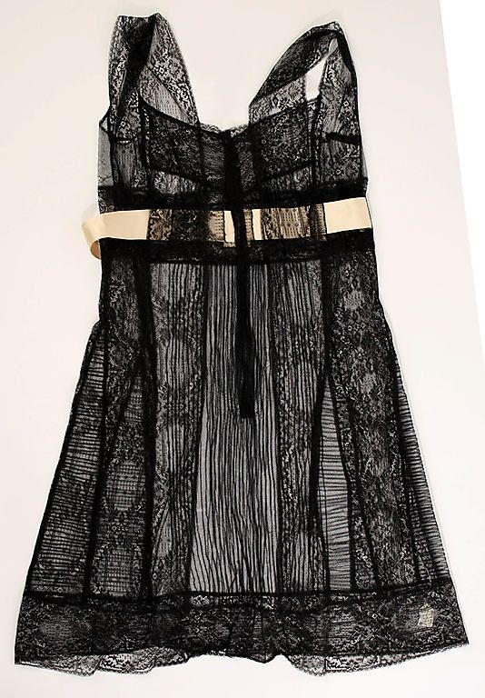 1916 Chemise/Camisole (see the matching drawers in the link!)  Costume Institute. Metropolitan Museum of Art.
