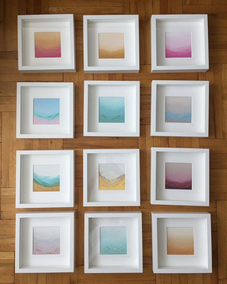 """38 kedvelés, 8 hozzászólás – AMIALHASSAN (@minaa_art_) Instagram-hozzászólása: """"Mini landscape collection • Ready to bring you joy #minaa_art_"""""""
