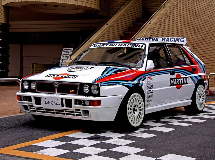 Rally version  of the Lancia Delta HF Intergrale Evo II