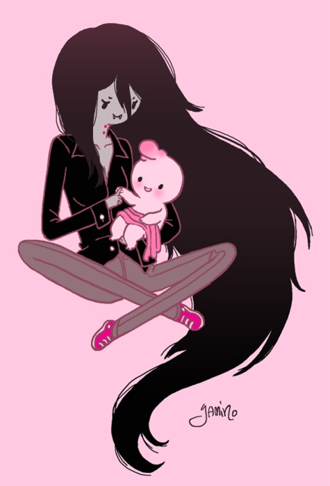 marshall lee and marcelines relationship