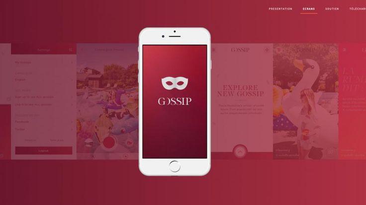 appli Gossip pour répandre des rumeurs anonymes