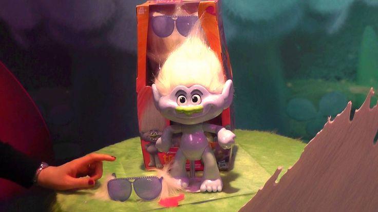 Best Dreamworks Trolls Toys : Dreamworks trolls glitterific guy diamond doll and games