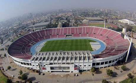 Estadio Nacional, Santiago.