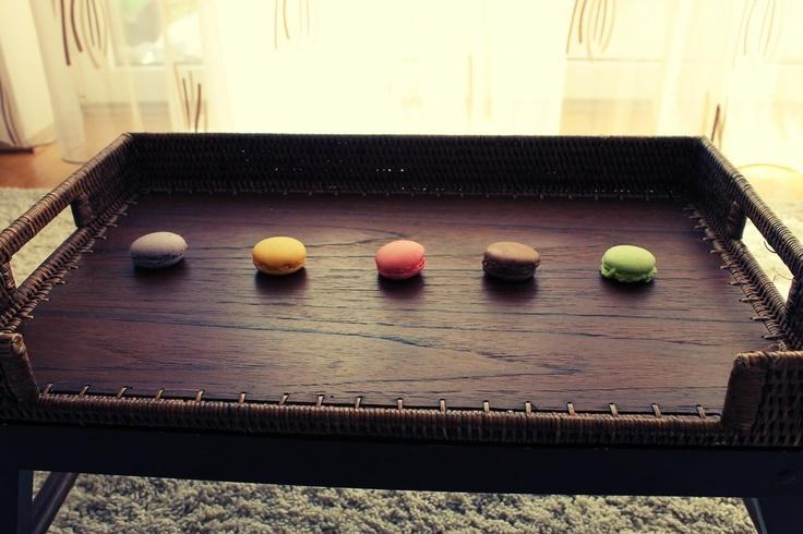 Macarons - pastel colour, still life