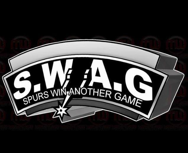 SWAG.... Spurs Win Another Game! | san antonio spurs ...