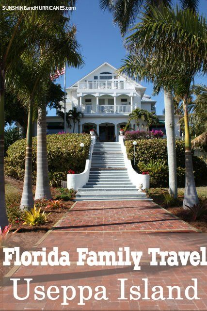 Ever dreamed about owning you down private island? Now you can give your family that awesome experience without the high price tag. Located near Sanibel and Captiva in Southwest Florida, Useppa Island is the place to visit for a day trip or stay for a weekend. Pristine beaches and unspoiled Florida at its finest, great for kids and adults, Florida Family Travel Useppa Island