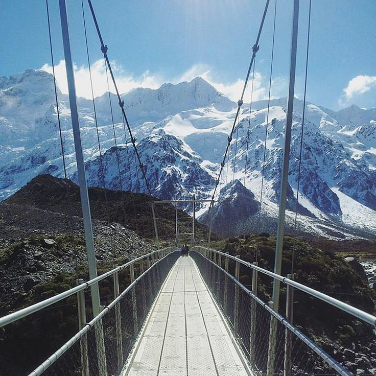 Aoraki / Mount Cook is the highest mountain in New Zealand. Its height  is listed as 3,724 m. The mountain is a popular tourist destination and  also a favorite challenge for mountain climbers. What about you-would you like to climb this mountain?