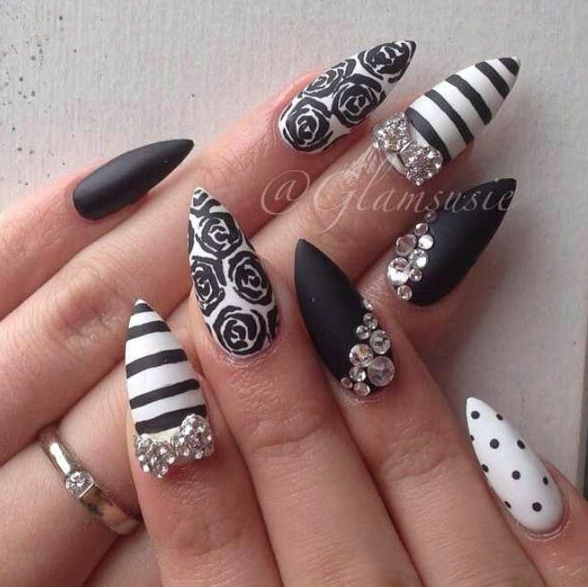 85 best uñas images on Pinterest   Nail design, Cute nails and Gel nails