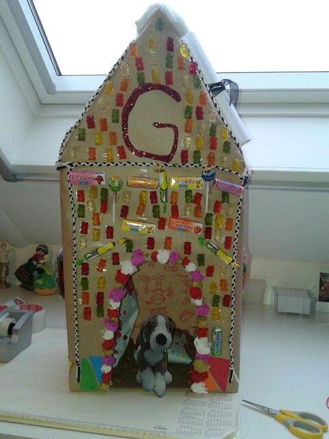 Surprise Snoep huis/hondenhok