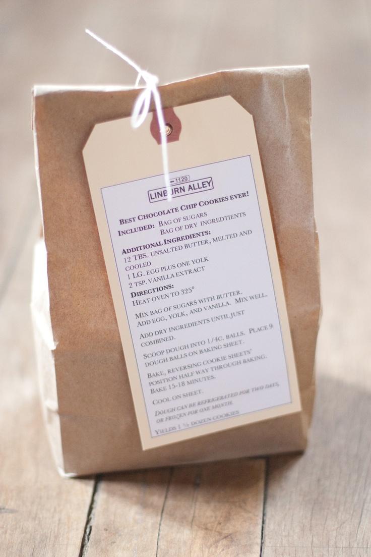 Wedding Favor Bags For Cookies : ... Cookies in a Bag! on Pinterest Kraft bag, Bags and Cookie packaging
