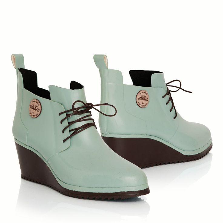 Lace Up Shoe | Originals | Nokian Footwear Designed by Julia Lundsten. Hand made of natural rubber.