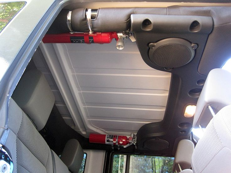 Toyota Tacoma Pro >> Where do you mount your fire extinguisher? | Fire ...