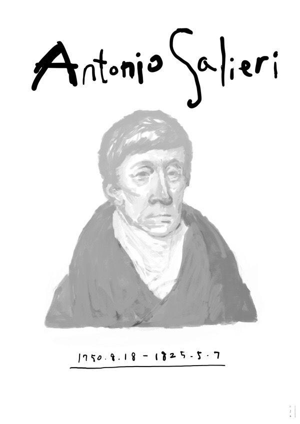 Antonio Salieri  1750.8.18-1825.5.7