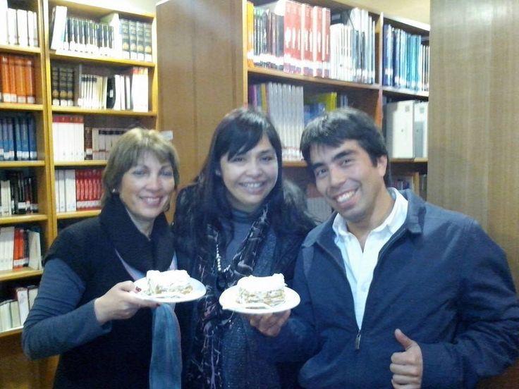 Celebrando Feliz Día del Bibliotecario!!!, (2014), Sede Las Condes.
